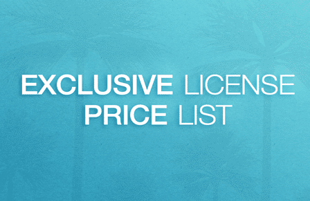 Exclusive-License-Price-List