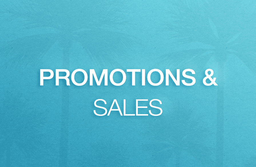 Promotions & Sales
