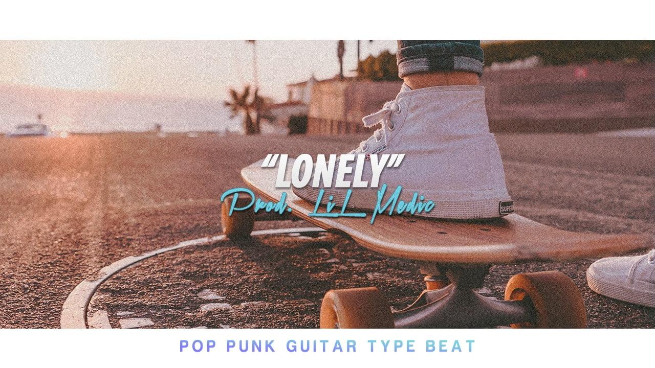"""""""Lonely"""" Guitar Rap Beat"""
